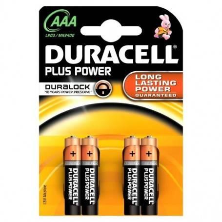 DURACELL PlusPower MN2400 MiniSTILO AAA BL4 BLISTER 4PZ