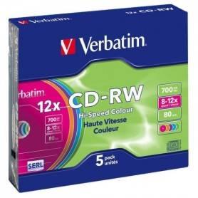 CD-R Verbatim 0,700 GB Campana 50 Pezzi