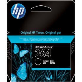 ORIGINAL HP Cartuccia d'inchiostro nero CB316EE 364 ~250 Pagine 7.5ml