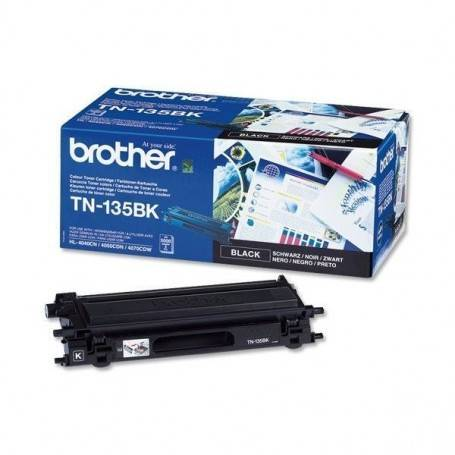 ORIGINAL Brother toner nero TN-135bk  ~5000 Seiten