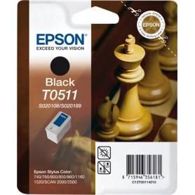 ORIGINAL Epson Cartuccia d'inchiostro nero C13T05114010 SO20108/SO20189 ~900 Seiten 24ml