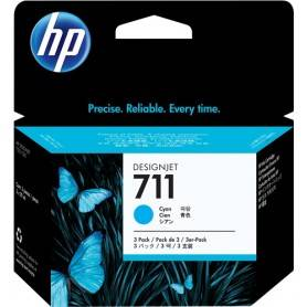 Cartuccia d'inchiostro HP ciano CZ134A 711 3-Pack 29 ml