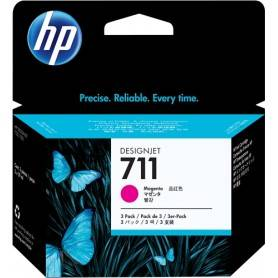 Cartuccia d'inchiostro HP magenta CZ135A 711 3-Pack 29 ml