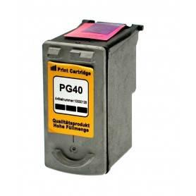 Cartuccia d'inchiostro CANON nero  Compatibile PG-40 0615B001 ~355 Pagine 16ml