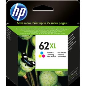 Cartuccia HP d'inchiostro colore C2P07AE 62 XL ~415 Pagine Originala