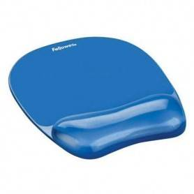 Tappetino mouse con poggia polso Gel Fellowes GELCRYSTALS