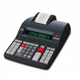 Calcolatrice Mini Scrivente OLIVETTI LOGOS 912T
