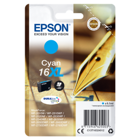 ORIGINAL Epson Cartuccia d'inchiostro ciano C13T16324012 T1632 450 Pagine 6.5ml XL