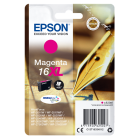 ORIGINAL Epson Cartuccia d'inchiostro magenta C13T16334012 T1633 450 Pagine 6.5ml  XL