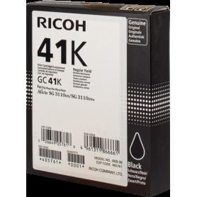 ORIGINAL Cartuccia Ricoh  405761 GC 41 Nero 2500  Pagine