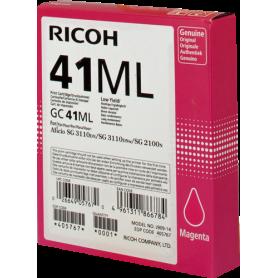 ORIGINAL Cartuccia Ricoh gel 405767 GC 41 ml Magenta 600 Pagine