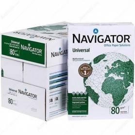 Carta Navigator A4 80GR Per Fotoriproduttori Confezione 5 Risme da 500 Fogli