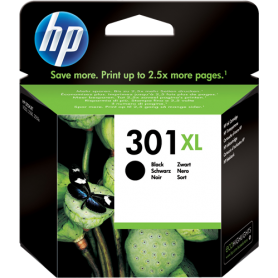 ORIGINAL HP Cartuccia CH563EE 301XL Nero 480 Pagine 3ml