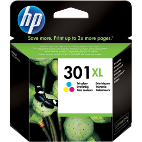 ORIGINAL HP Cartuccia CH564EE 301 XL Colore 330  Pagine