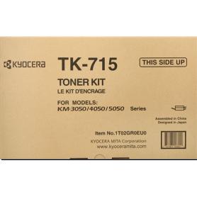 ORIGINAL Toner Kyocera  TK-715 1T02GR0EU0 Nero 34000 Pagine