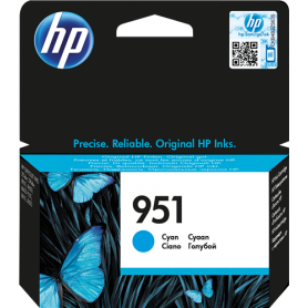 ORIGINAL Cartuccia HP Ink jet CN050AE 951 Ciano 700 Pagine