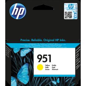 ORIGINAL Cartuccia HP Ink jet CN052AE 951 Giallo 700 Pagine