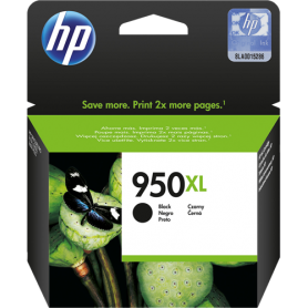 ORIGINAL Cartuccia HP Ink jet CN045AE 950XL Nero 2300 Pagine