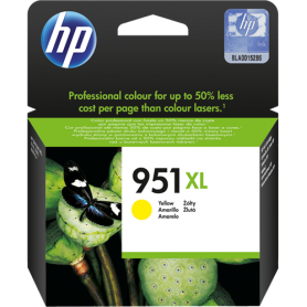 ORIGINAL Cartuccia HP Ink jet CN048AE 951XL Giallo 1500 Pagine