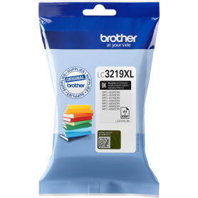 ORIGINAL Cartuccia Brother Inkjet LC3219XLBK Nero 3.000 Pagine