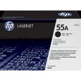 ORIGINAL HP toner nero CE255A 55A ~6000 Seiten