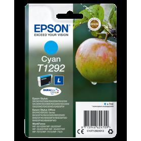 ORIGINAL Cartuccia Epson Inkjet C13T12924012 Ciano T1292 470 Pagine