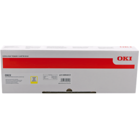 ORIGINAL Toner OKI 44844613 Giallo 7300 Pagine