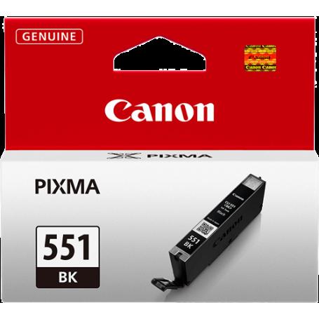 ORIGINAL Cartuccia Inkjet Canon CLI-551bk 6508B001 Nero 7ml