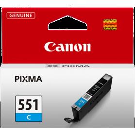 ORIGINAL Cartuccia Inkjet Canon CLI-551c 6509B001 Ciano 7ml