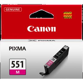 ORIGINAL Cartuccia Inkjet Canon CLI-551m 6510B001 Magenta 7ml
