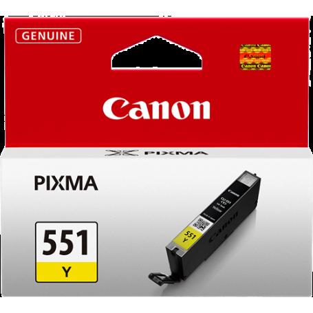 ORIGINAL Cartuccia Inkjet Canon CLI-551y 6511B001 Giallo 7ml