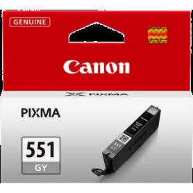 ORIGINAL Cartuccia Canon CLI-551gy 6512B001 Grigio  7ml