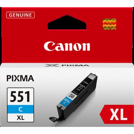 ORIGINAL Cartuccia Canon CLI-551c XL 6444B001 Ciano 11ml
