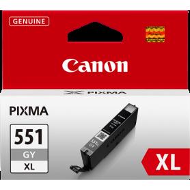 ORIGINAL Cartuccia Canon CLI-551gy XL 6447B001 Grigio 11ml