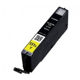COMPATIBILE Cartuccia Inkjet Canon CLI-551y XL 6446B001 Giallo 11ml