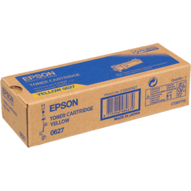 ORIGINAL Toner Epson C13S050627 0627 Giallo 2500 Pagine