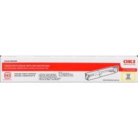 ORIGINAL Toner OKI 43459369 Giallo 2500 Pagine