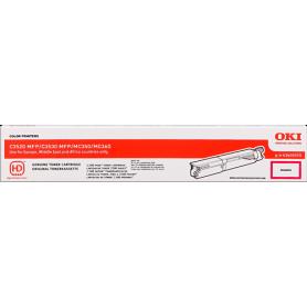 ORIGINAL Toner OKI 43459370  Magenta 2500 Copie