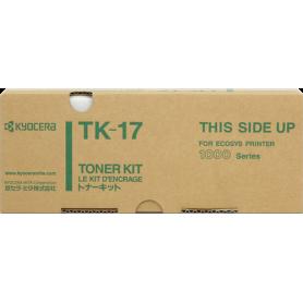 ORIGINAL Toner  Kyocera  TK-17 1T02BX0EU0 Nero 6000 Copie