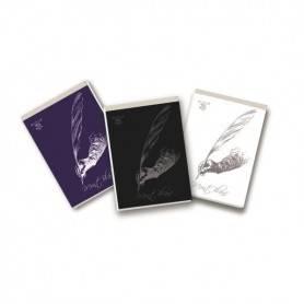 BLOCCHI Pigna Formato A4 Quadretti 5mm - MONT BLANC Confezione 10 Pezzi