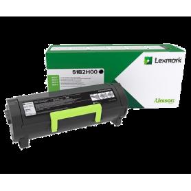 ORIGINAL Toner Lexmark 51B2H00 Nero 8000 Copie
