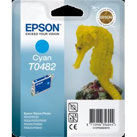 ORIGINAL Cartuccia inkjet Epson  C13T04824010 Ciano T0482 13ml