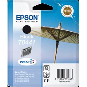 ORIGINAL Cartuccia InkJet Epson C13T04414010 T0441 Nero 540 Pagine 13ml