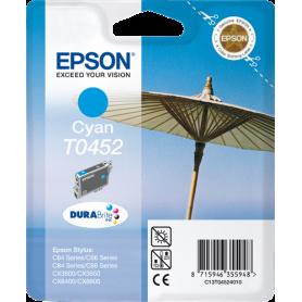ORIGINAL Cartuccia Epson C13T04424010 T0442 Ciano 420 Pagine 13ml alta capacità