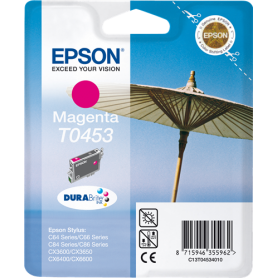 ORIGINAL Cartuccia Epson C13T04534010 T0443 Magenta 420 Pagine 13ml alta capacità