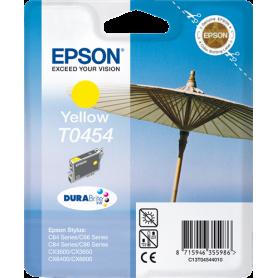 ORIGINAL Cartuccia Inkjet Epson C13T04544010 T0454 Giallo 250 Pagine