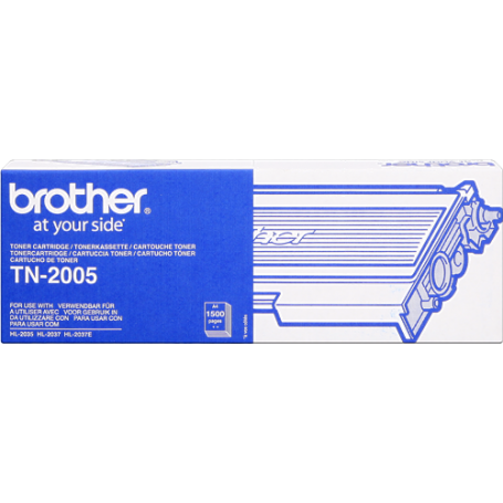 ORIGINAL Brother toner nero TN-2005  ~1500 Seiten