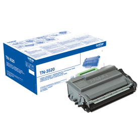 ORIGINAL Toner Brother TN-3520 Nero 20000 Pagine