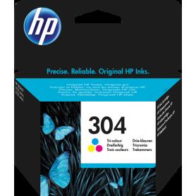 ORIGINAL Cartuccia HP Inkjet N9K05AE HP 304 Colore 100 Pagine