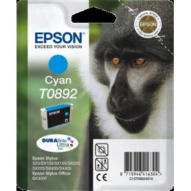ORIGINAL Cartuccia Inkjet Epson T0892 C13T08924011 Ciano 170 Pagine